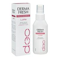 Dermafresh pelle sensibile latte, erogatore no gas: deodorante senza alcool, con vitamina E. Latte 100 ml