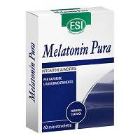 Melatonin pura 60 micotavolette 1mg melatonina