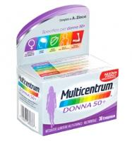 Multicentrum Donna 50+ Integratore Vitamine e Minerali 30CPR