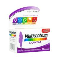 Multicentrum Donna Integratore Vitamine e Minerali 30 Compresse