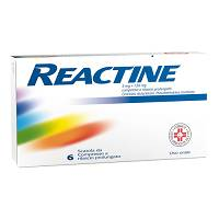REACTINE * 6 Compresse 5mg+102mg a rilascio prolungato