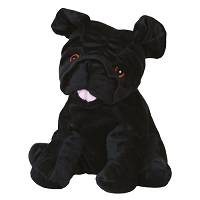 Warmies peluche riscaldante - Carlino nero
