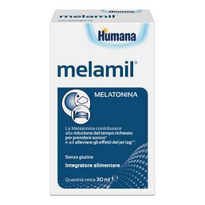 Melamil 1 mg/ 4 g gocce 30 ml Milte