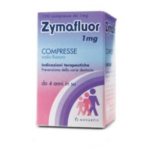 ZYMAFLUOR*100CPR 1MG